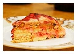 быстрый десерт из творога и фруктов
