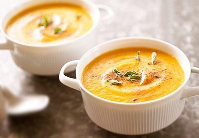 Морковный суп готов