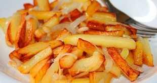 Острый картофель