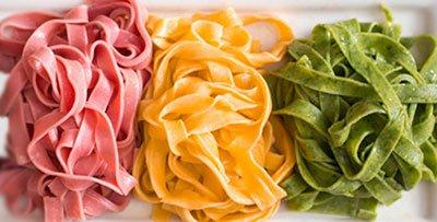 Цветная паста