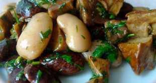 Салат с растительным маслом