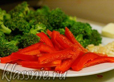 Овощи для пенне