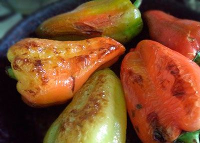 Жареный сладкий перец
