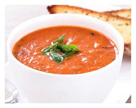 суп-пюре из помидор