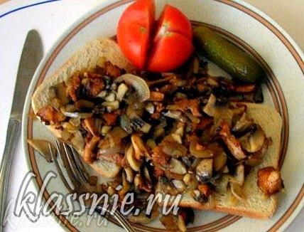 Бутерброд готов