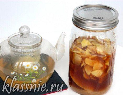 чай с имбирем и чесноком для похудения