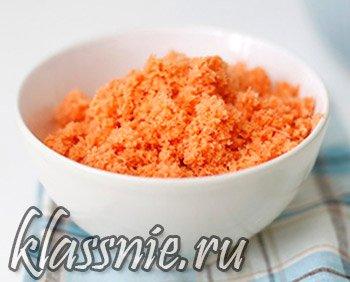 Морковный жмых