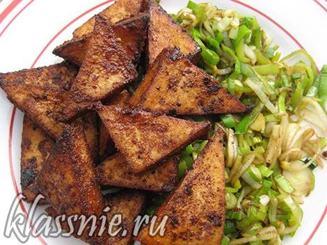 жареный тофу