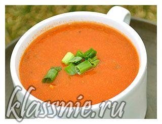 суп из нута с помидорами