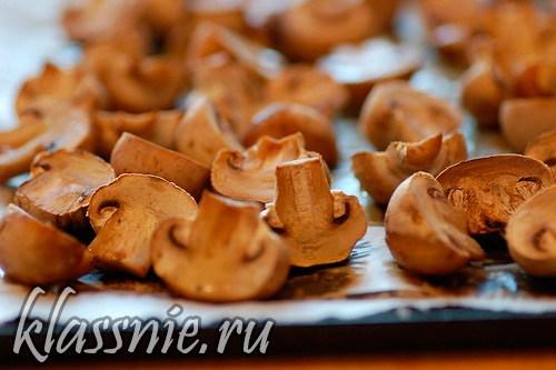 запечь грибы