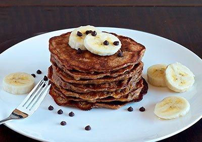 банановые оладьи рецепт с фото на молоке