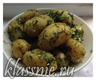 Картофель по-еврейски