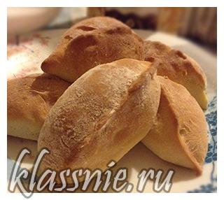 Постные пирожки с картошкой и луком