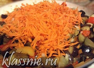 Морковь в соте