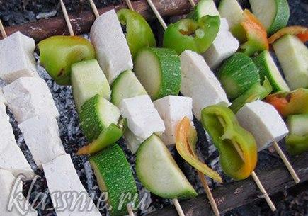 Тофу на шампурах