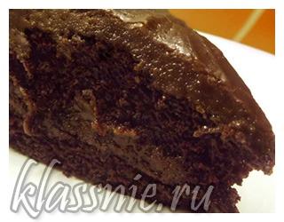 Шоколадный пирог Крейзи Кейк