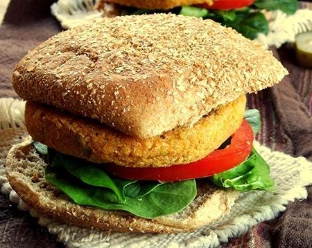 Бутерброд с фалафелью