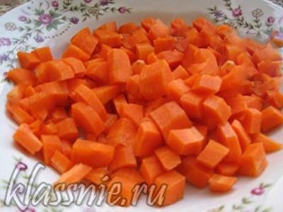 Подготовить морковь