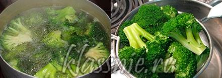 Отварить брокколи