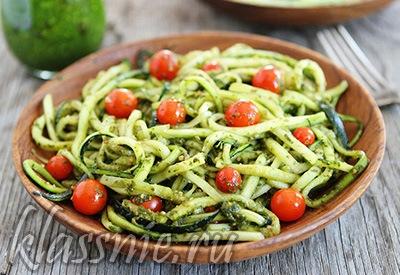 Спагетти с авокадо