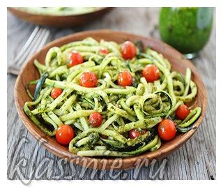 Сыроедные спагетти