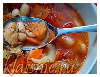 Фысолада - греческий суп
