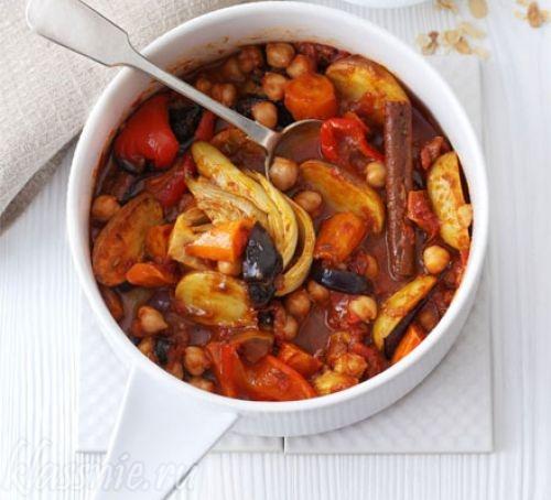 Суп из печеных овощей