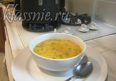 Суп в процессе приготовления