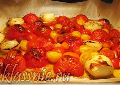 Печеные помидоры