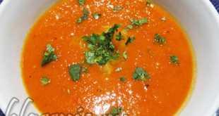 Суп крем из томатов