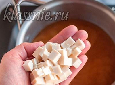 Добавить тофу