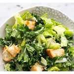 Салат Цезарь — вегетарианский рецепт