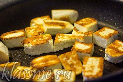 Жареный адыгейский сыр