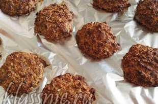 Овсяное печенье готово