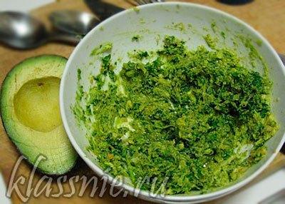 Гвакамоле вегетарианский