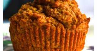 Кекс или маффин ил морковного жмыха