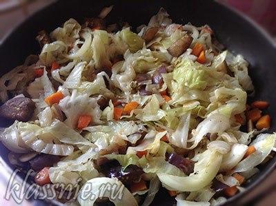 Тушеные овощи