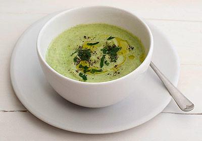 Суп-пюре из замороженных брокколи