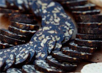 Колбаса из чернослива с орехами