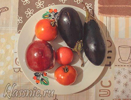 Овощи для лаваша
