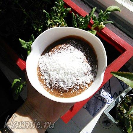 Веган шоколадное мороженоеготово