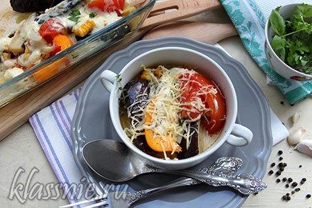 Овощи под сыром