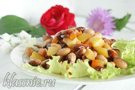 Рагу из фасоли и картофеля