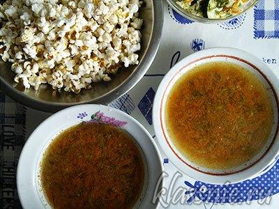 Суп с кабачком и морковью «Кабачели-морковели»