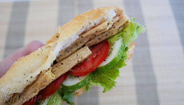 Сэндвич с фучжу