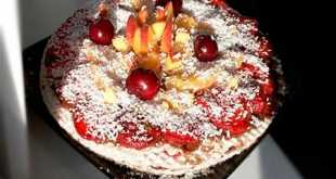 Вафельный торт по вегану