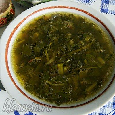 Зеленый суп Детокс