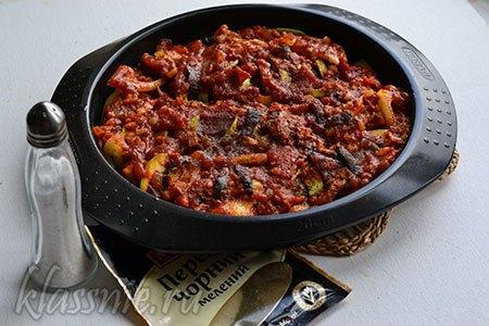 Блюда из кабачков вегетарианские