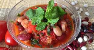 Красная фасоль в томате