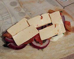 Шаурма с овощами и сыром